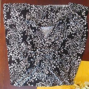 Jennifer Lopez Black Cheetah Leopard Print Maxi